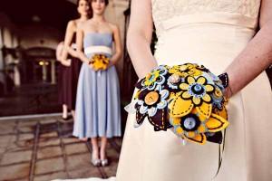 пуговицы для букета невесты