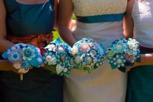 сделать свадебный букет своими руками