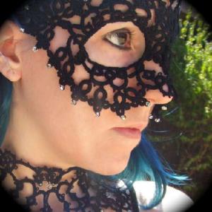 фриволите маска