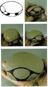 украшения на дачу из камня