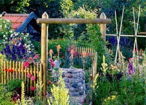 Украшения и поделки для сада