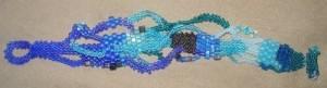 Эксклюзивный браслет из бисера