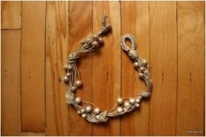 браслет из веревок