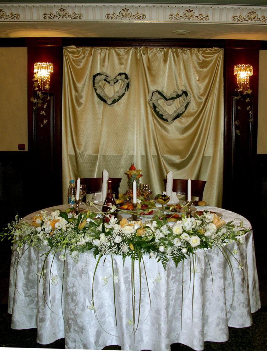 Как украсить банкетный зал для свадьбы своими фото руками 52