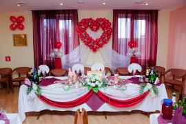 Украшаем банкетный зал в день свадьбы