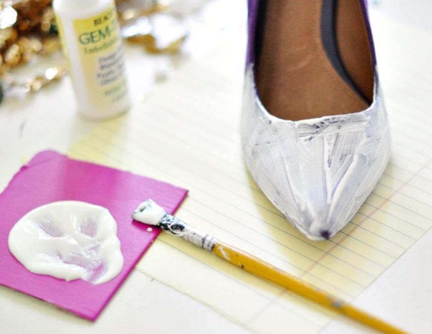 Как украсить туфли своими руками мастер класс 44