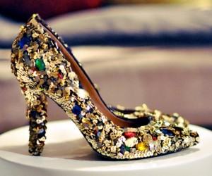 украшаем туфли