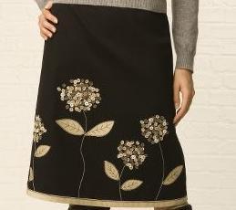 как украсить юбку