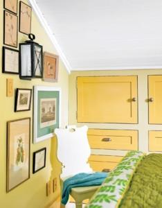 встроенные шкафчики в спальне