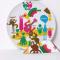 Мотивы росписи тарелки