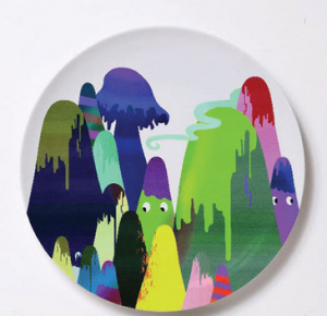 варианты росписи тарелки