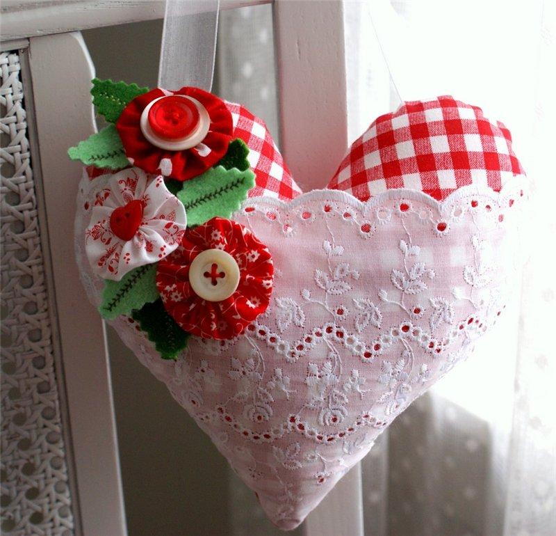 Сердечко к дню святого валентина своими руками