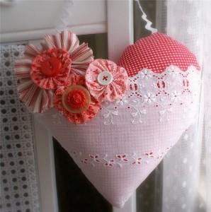 варианты декора валентинок