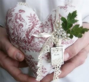 декорируем валентинки