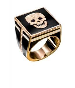 кольцо с черепом для мужчин