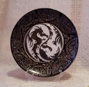 подарок на Новый год с символикой драконов