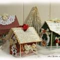 мастер-класс: рождественский домик