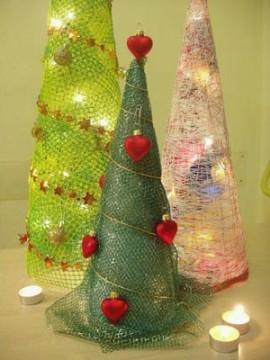 как просто сделать новогоднюю елку своими руками