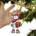 снеговик своими руками из фанеры
