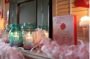 элементы декора ко дню Валентина