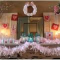 как украсить дом ко дню Валентина