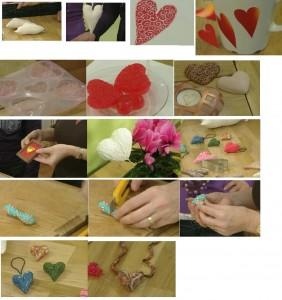 разные сердечки на день Валентина