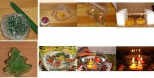 как делать свечи в домашних условиях