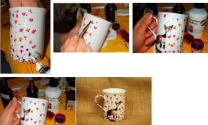 декор чашки своими руками