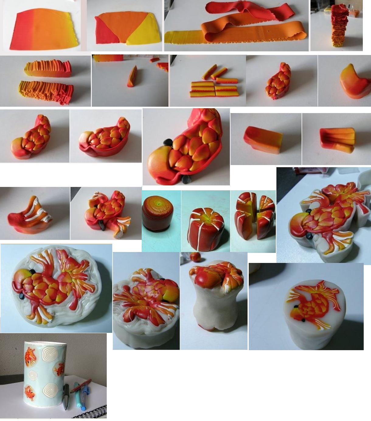 Идеи из пластики фото
