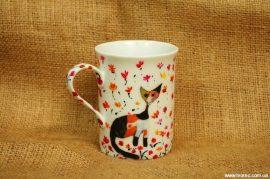 как  декорировать чашку своими руками