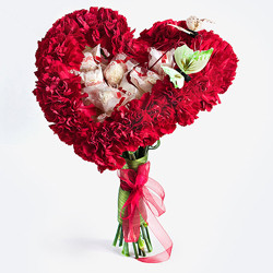 Мастер-класс: букет цветов на 23 февраля
