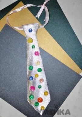 галстук на 23 февраля