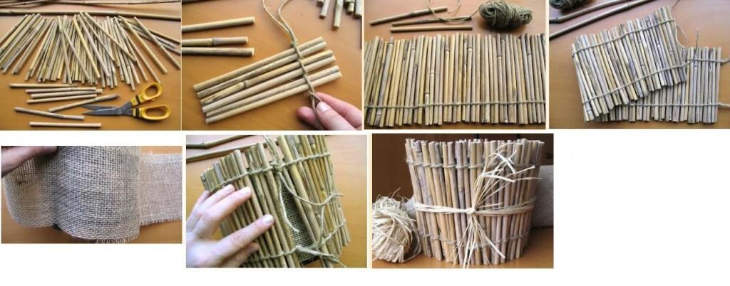 Как сделать цветок из верёвки