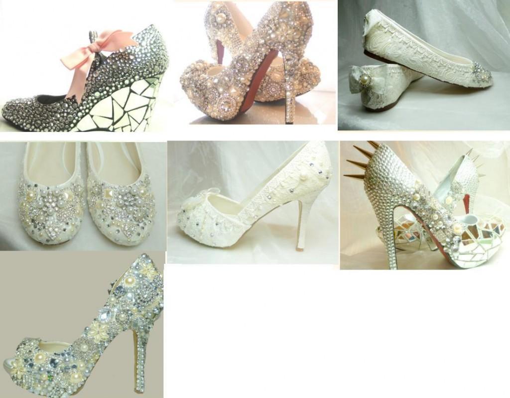 примеры декора туфель