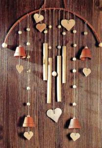 музыка ветра с сердечками