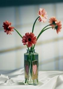 Красивая ваза в подарок