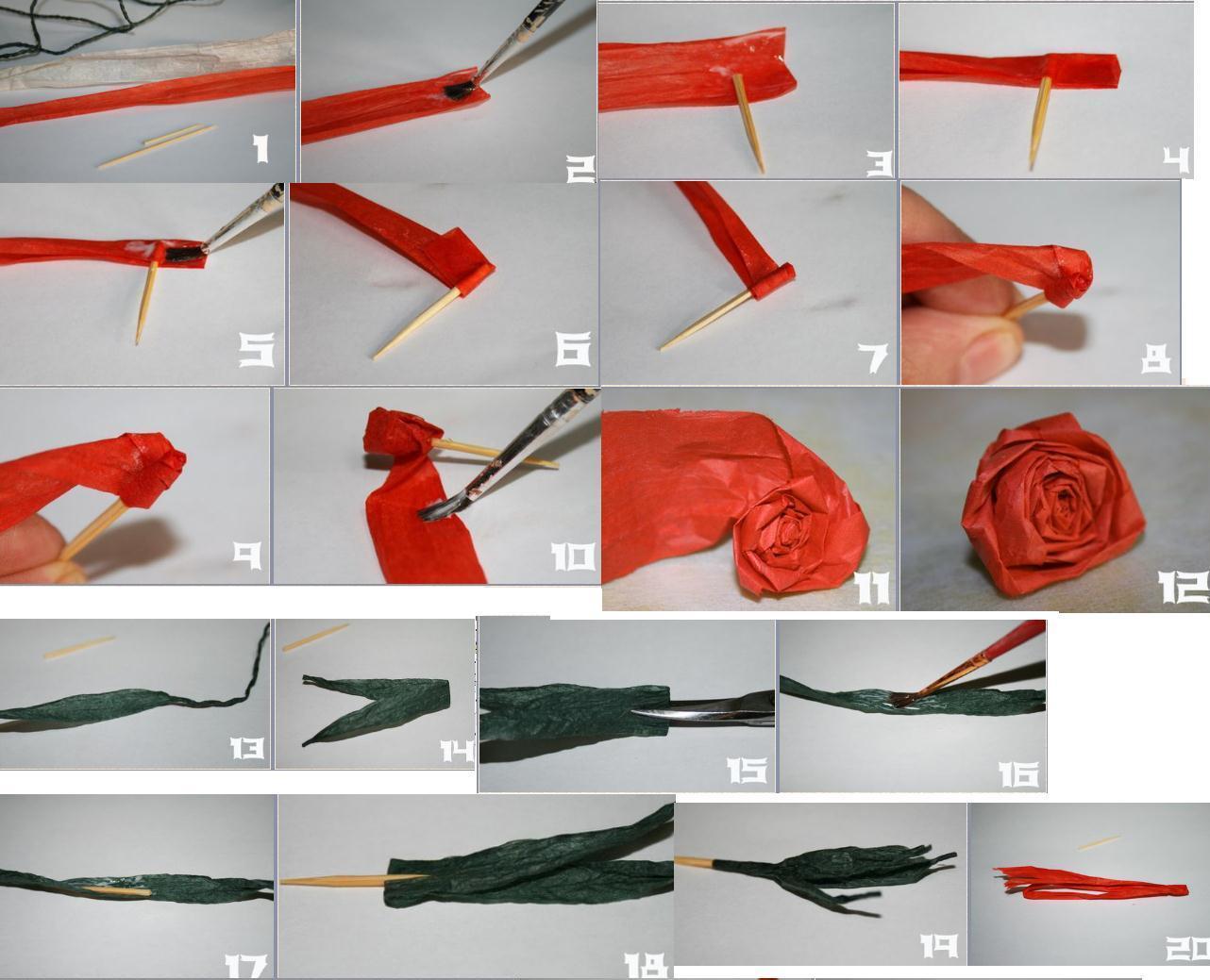 Цветок из бумажной ленты своими руками пошаговое