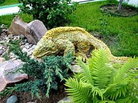 Украшение для сада игуана
