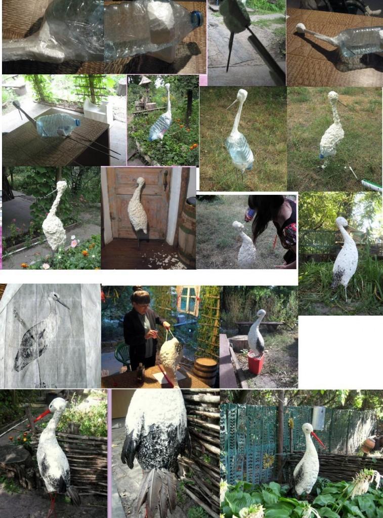 создаем скульптуру из монтажной пены