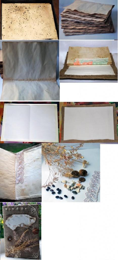 создаем дневник handmade