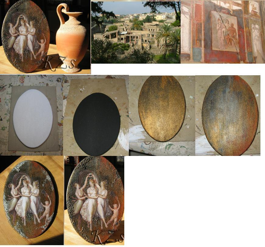 создание фрески