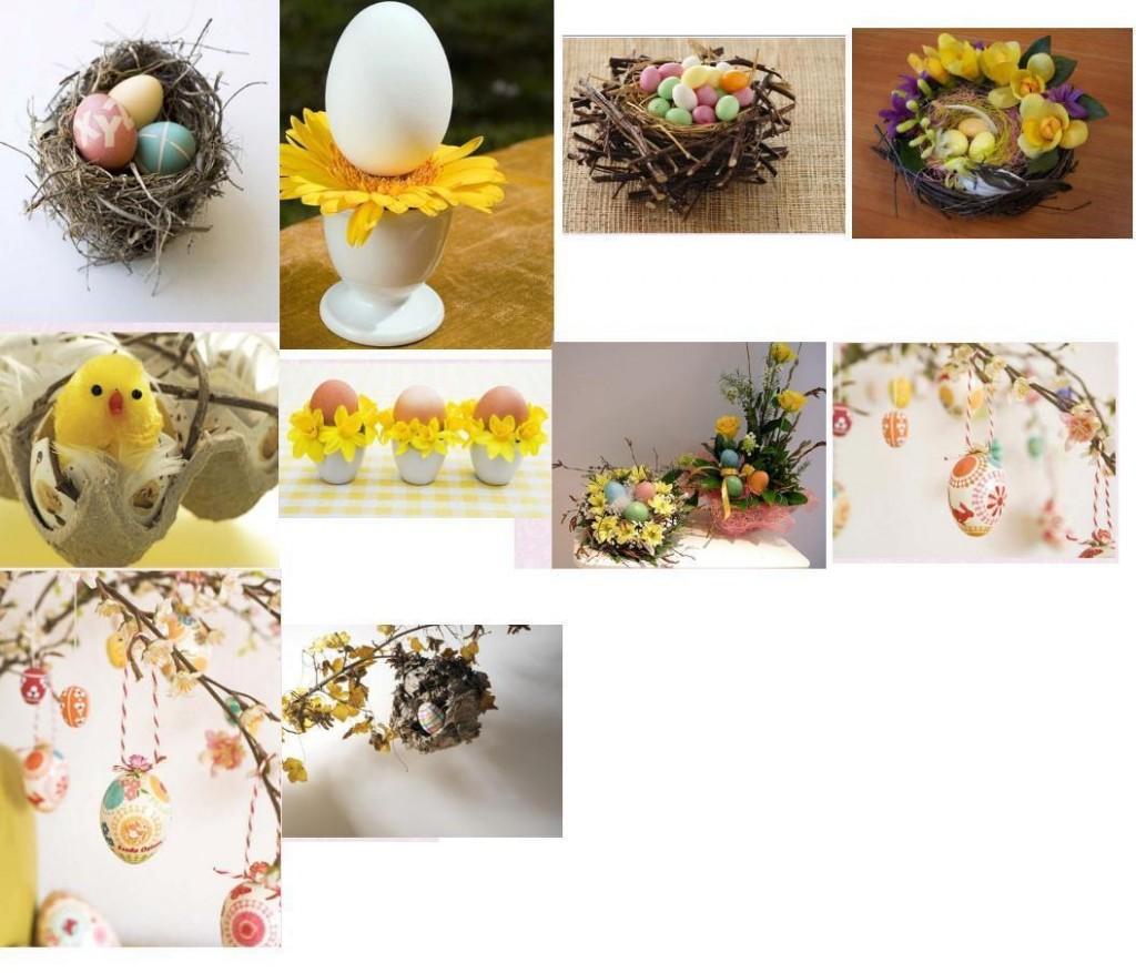 пасхальные декорации