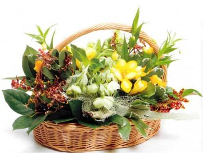 Композиции из цветов хэндмэйд