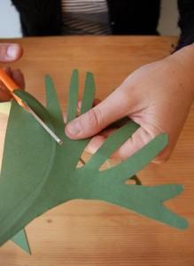 оленьи рога из бумаги