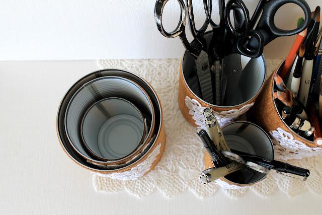 Как сделать стаканчик для карандашей фото 774