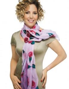 Украшение шарфа
