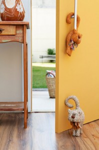 декоративный кот для дома