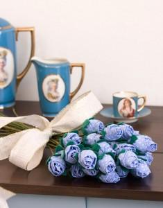 Текстильные розы