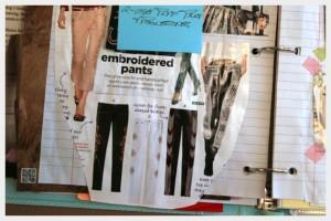 Украшение брюк