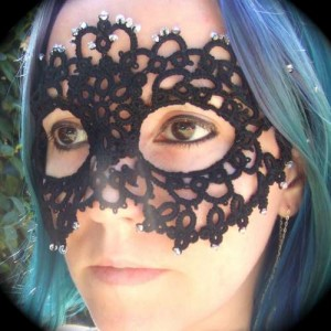 Ажурная маска мастер-класс